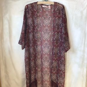 Band of Gypsies Duster Boho Kimono